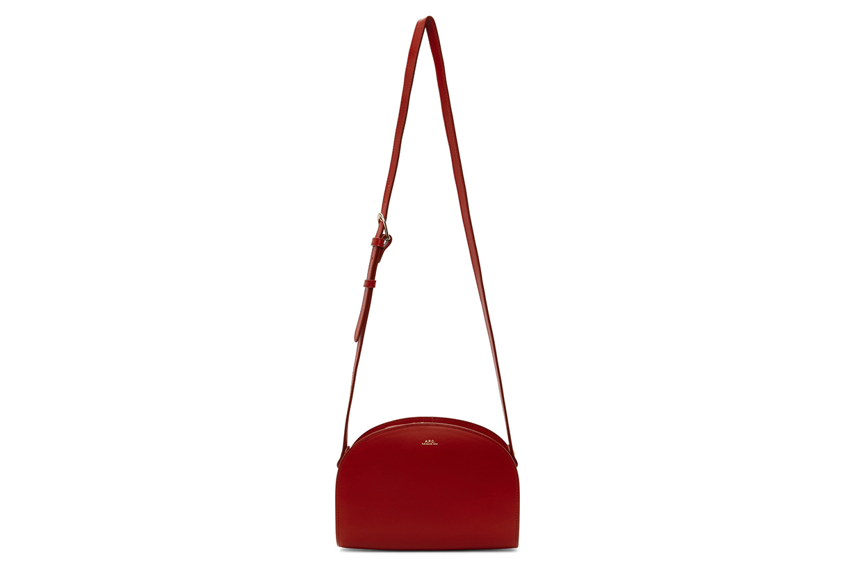 Red Demi-Lune Bag