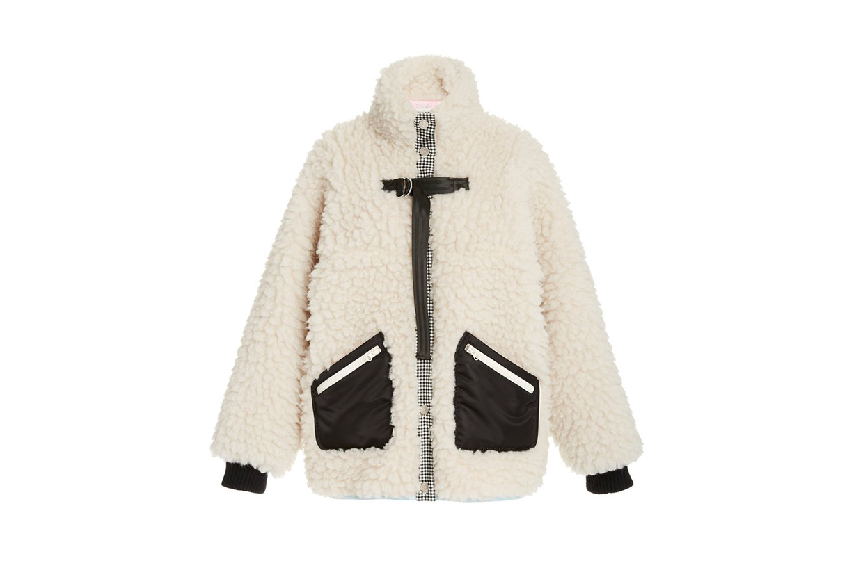 Sandy Liang Seven Fleece Jacket