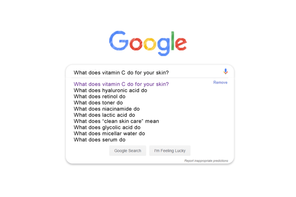 google 2020 top search trends fashion beauty