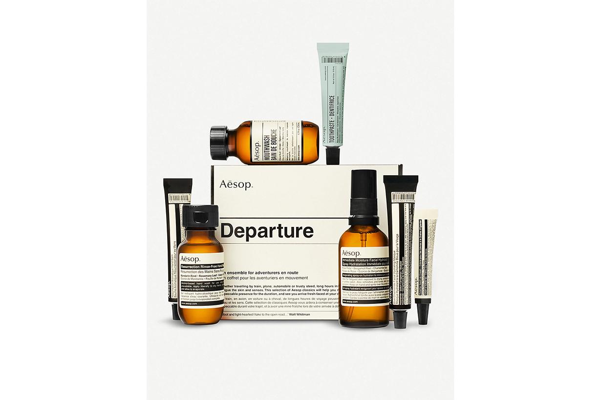 Skincare suitable for girls wowne boys men AESOP Departure travel set MALIN+GOETZ KIEHL'S Ultra Facial Cream