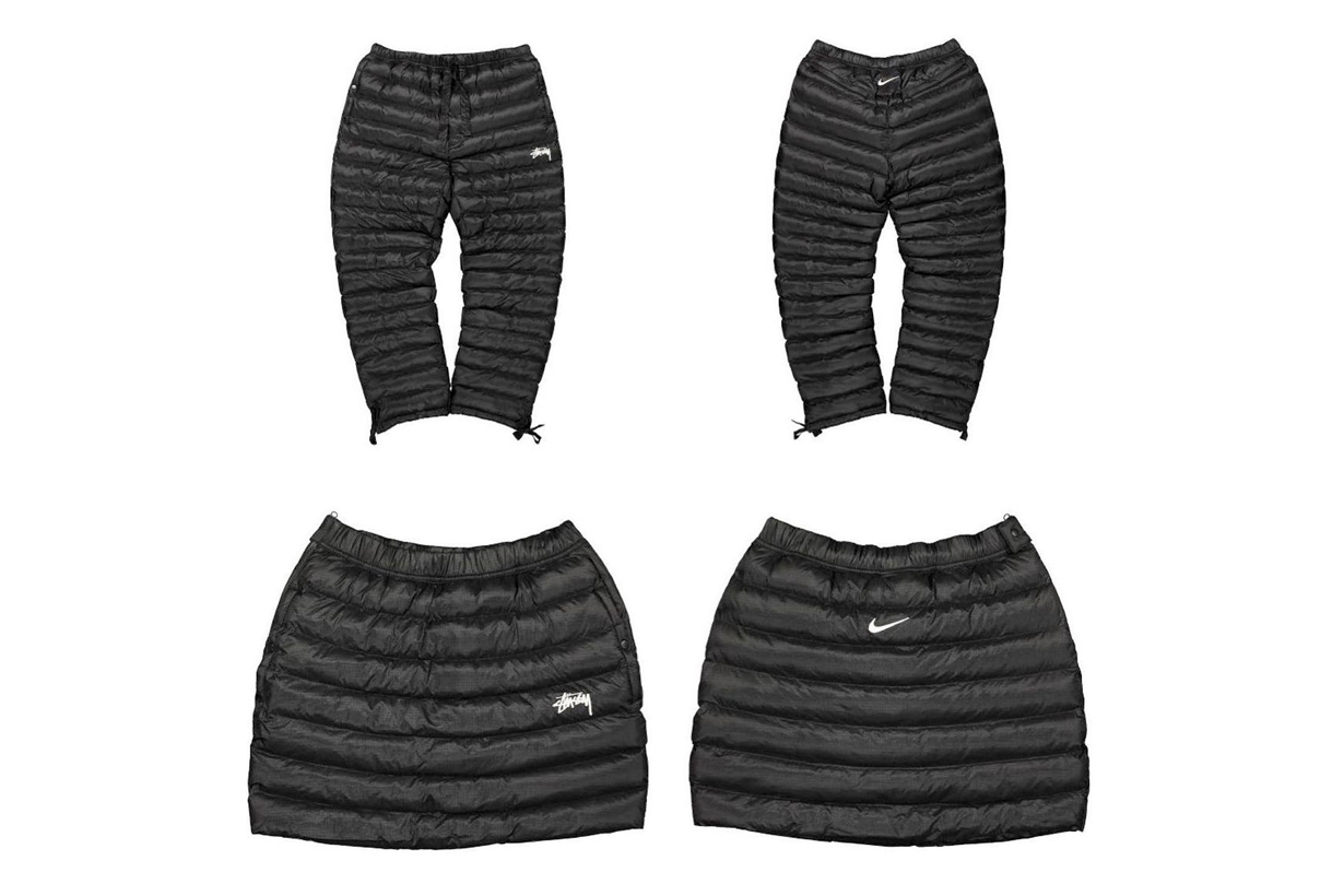 Stüssy Nike down skirt collabration special items