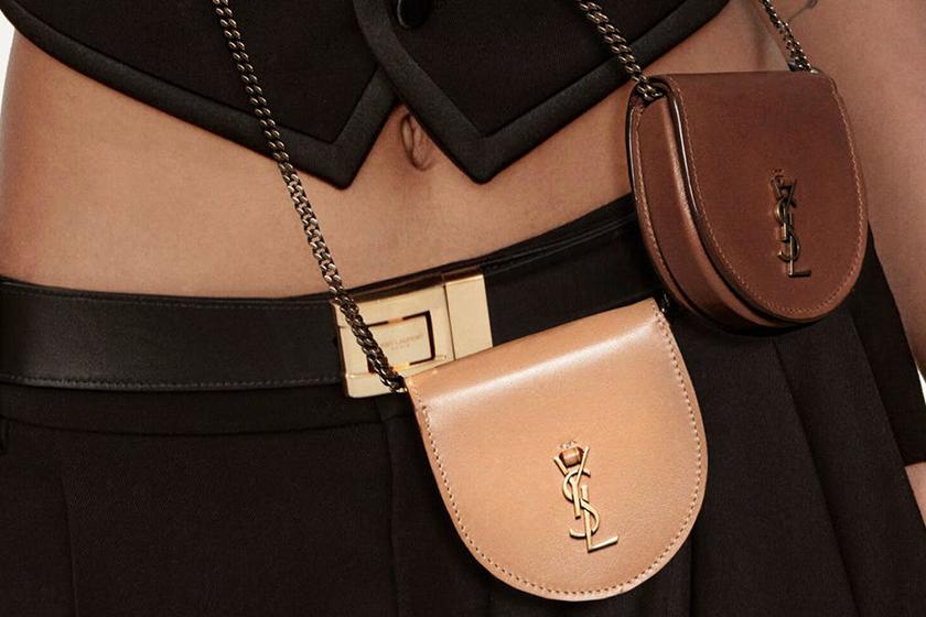 Saint Laurent Le K Baby Satchel Mini Bag