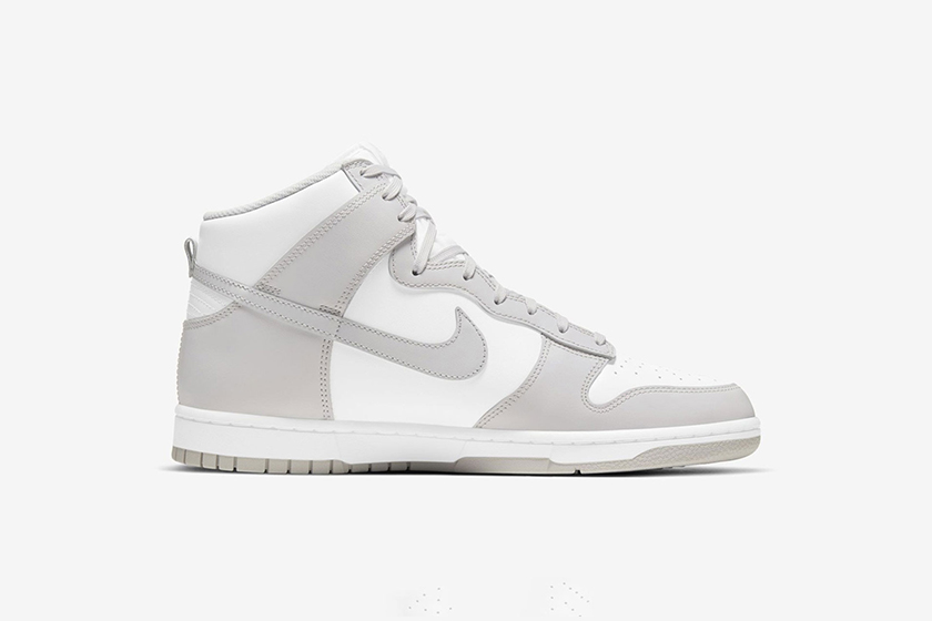 Nike Dunk High 2021 New Color Baby Blue Gray