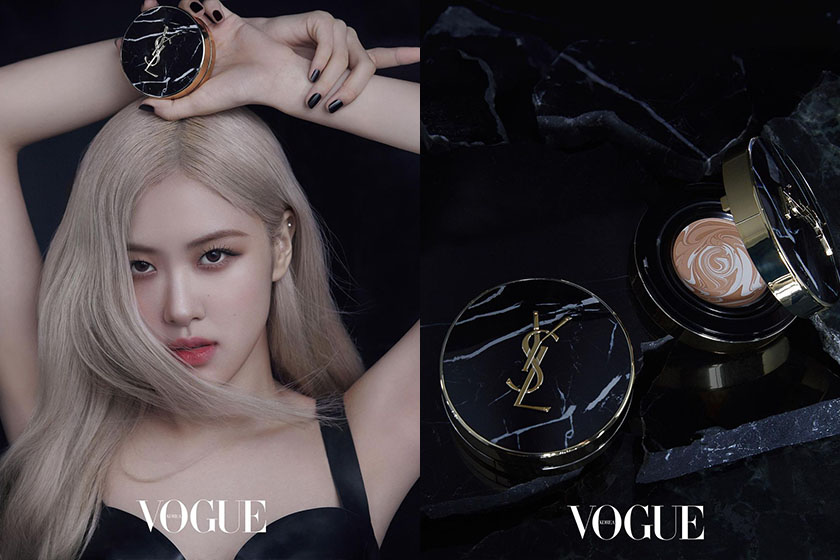 BLACKPINK Rose YSL Beauty Marble Cushion Foundation