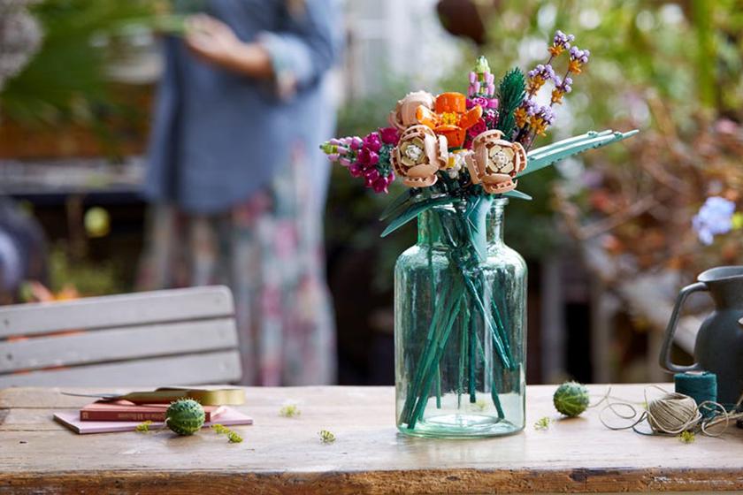 LEGO flower bouquet bonsai tree