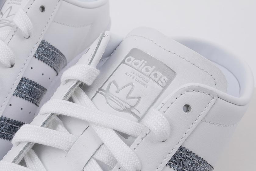 adidas Originals Superstar Mules White Sneaker