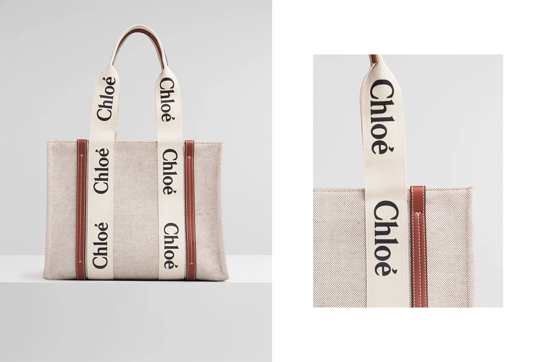 Chloe 2021 it bag woody tote bag