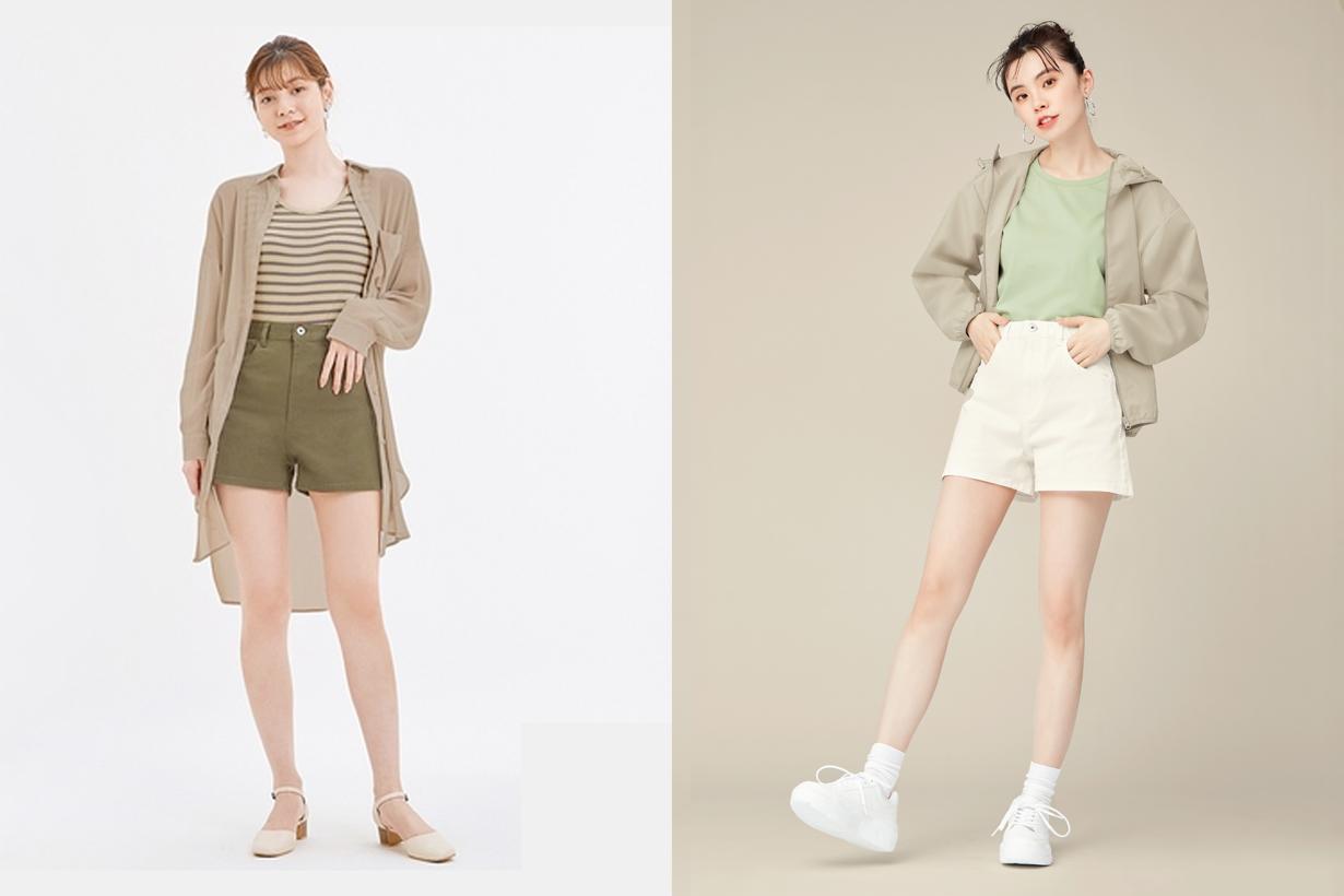 GU 2021 SS taiwan one piece shorts new version