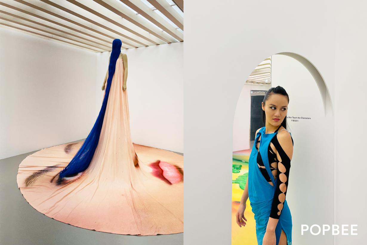 john yuyi taiwan taipei exhibition Eye Sees No Lashes Tao Art 2021 when where