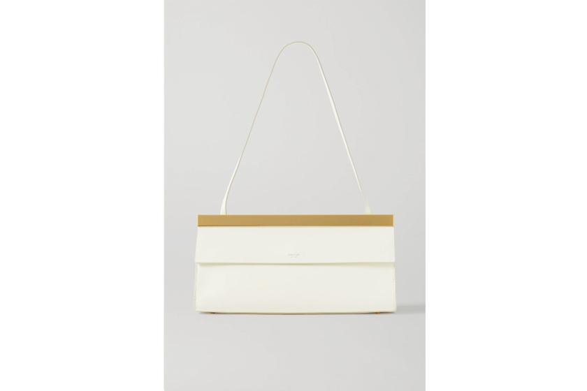 Jerome Baguette leather shoulder bag