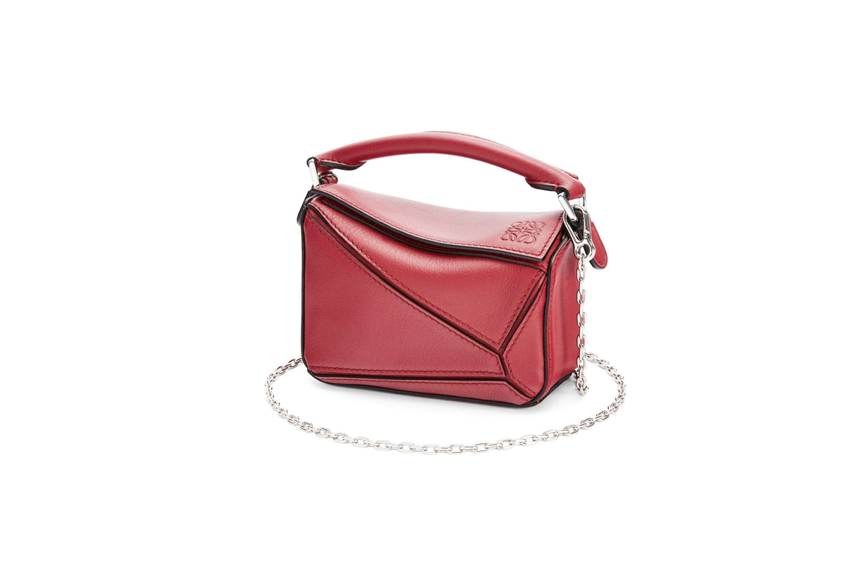 loewe puzzle nano chain handbags 2021 new where buy when
