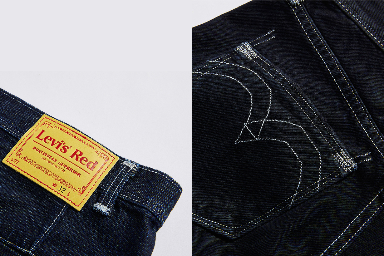 levi's red back retro special limited edition 2021 jeans