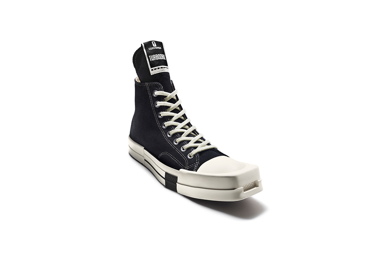 Converse Rick Owens TURBODRK Chuck 70 sneakers Collabration