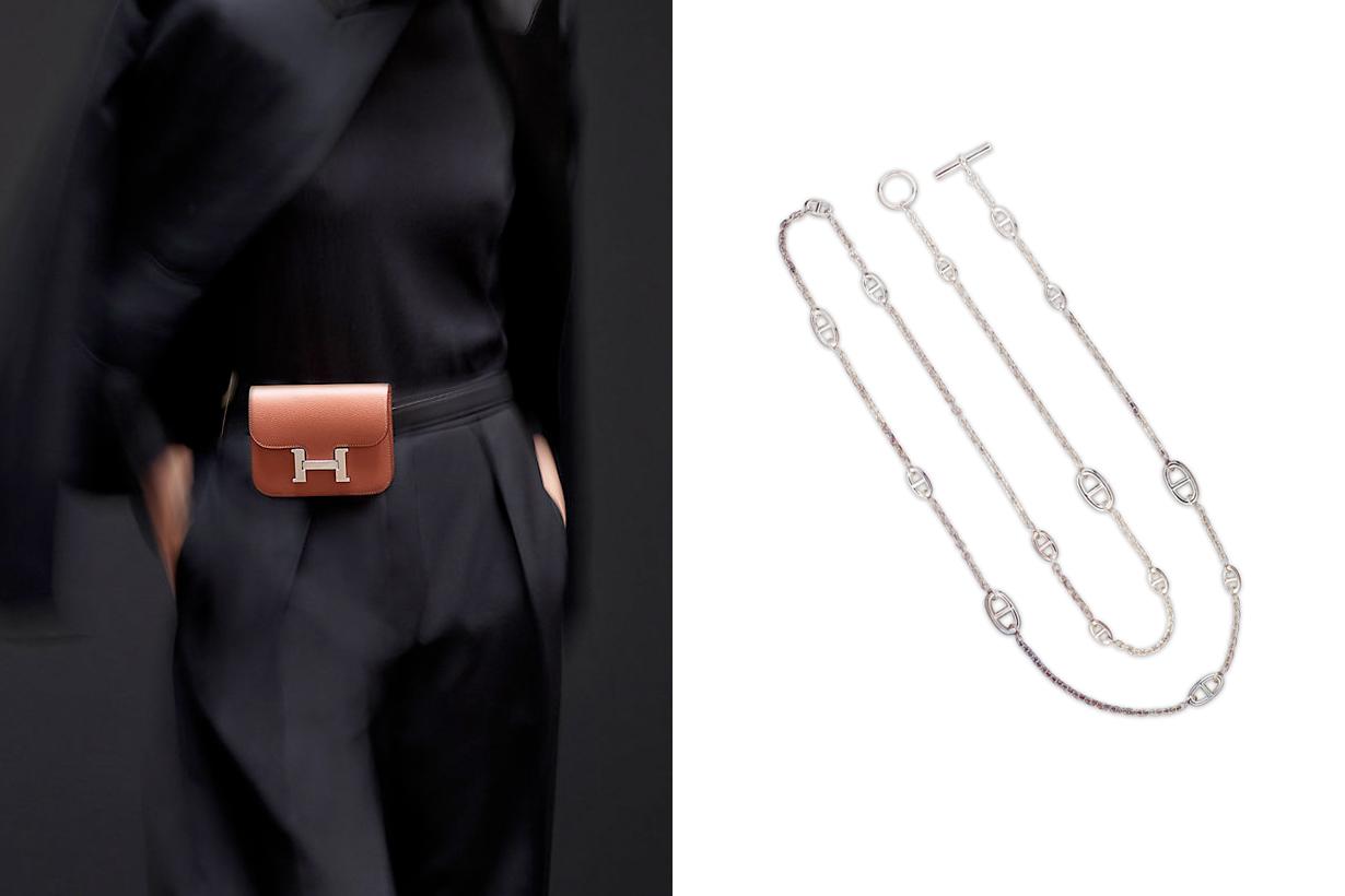 hermes constance WOC wallet chain belt slim 3 ways