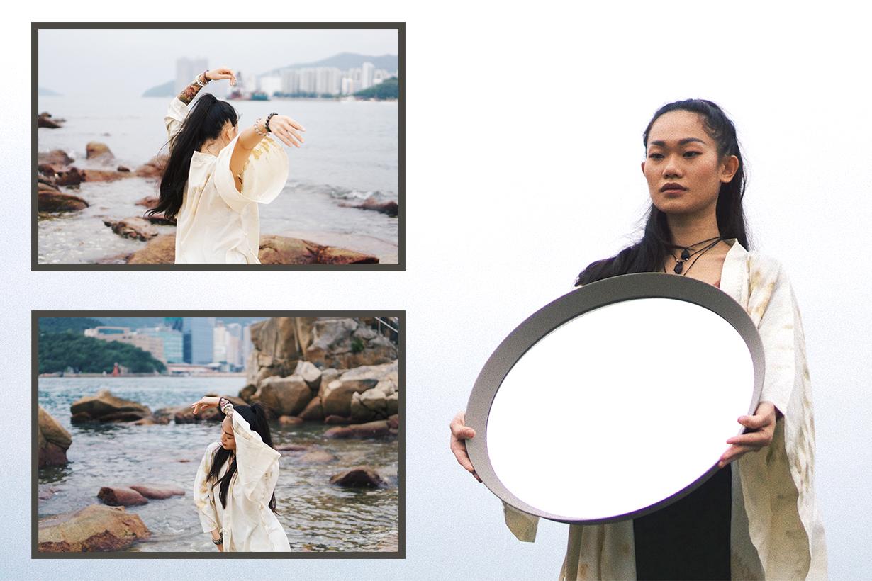 Trian Kong Trianpopo Hong Kong Dancer Healer Vegan Eater Vegetarian Diet Reiki Nature Environmental protection