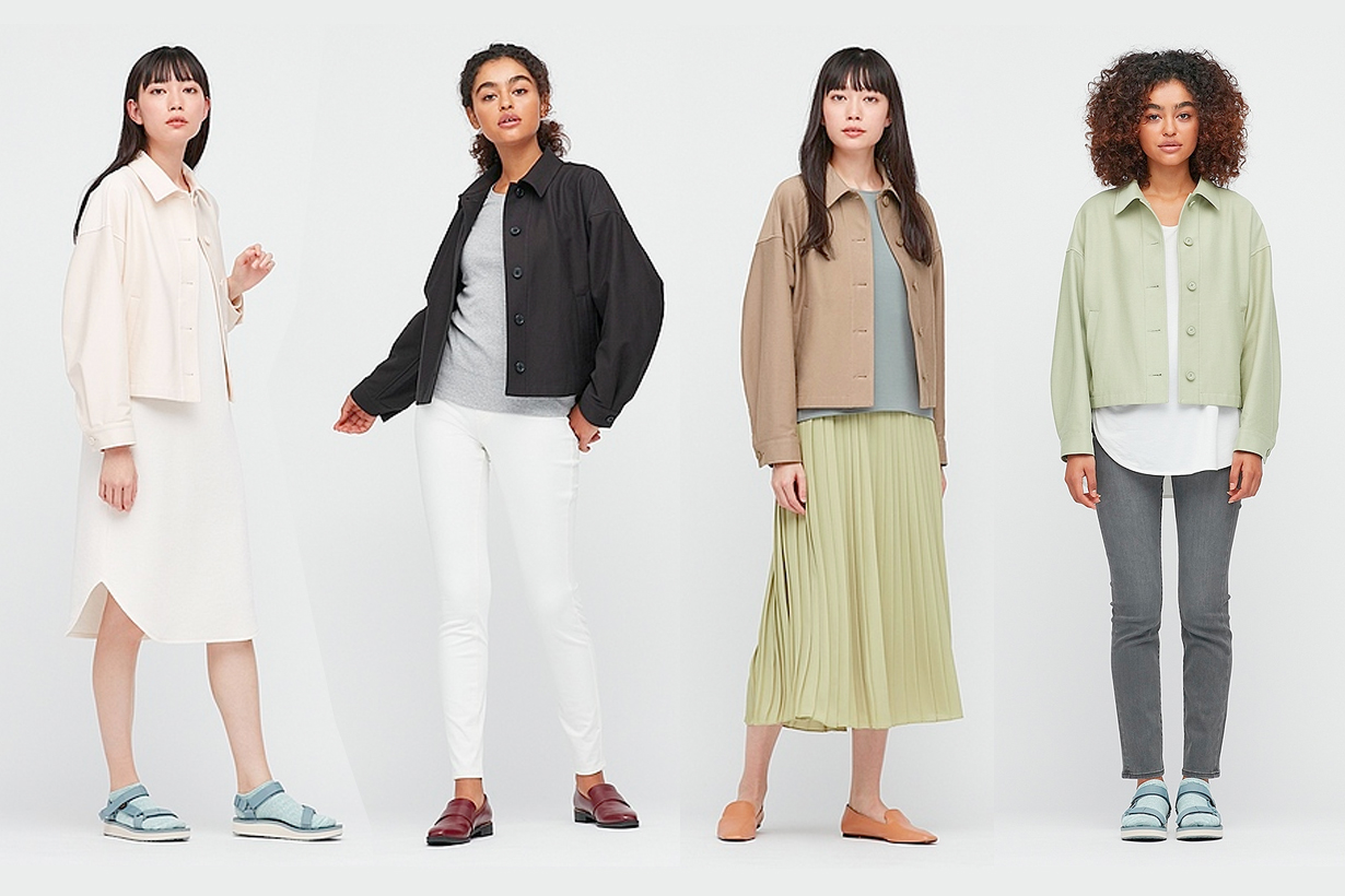 uniqlo jacket 2021 ss japan taiwan short girls