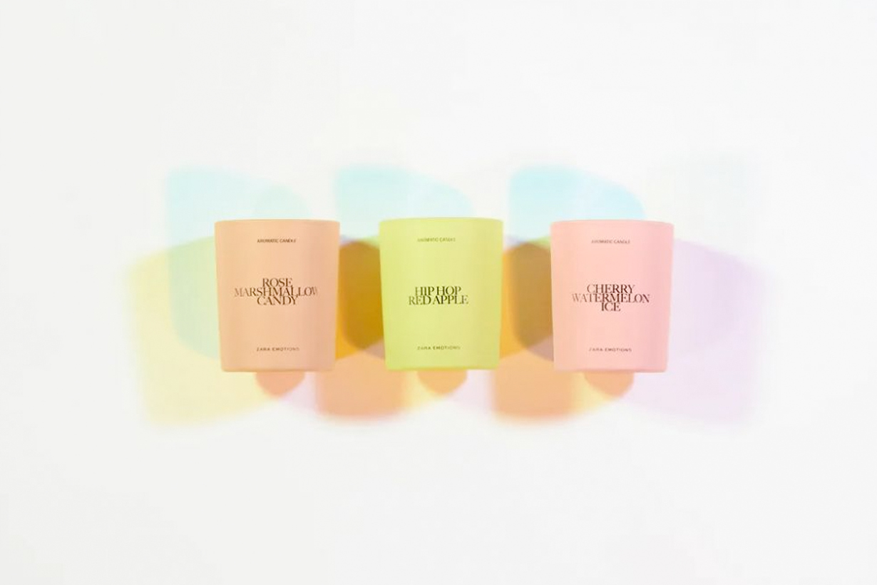 zara jo malone emotions glace collection LULLABY new perfume candle
