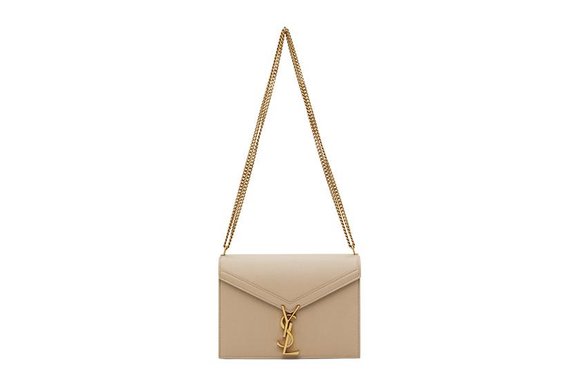 Saint Laurent Milk Tea Color Handbags