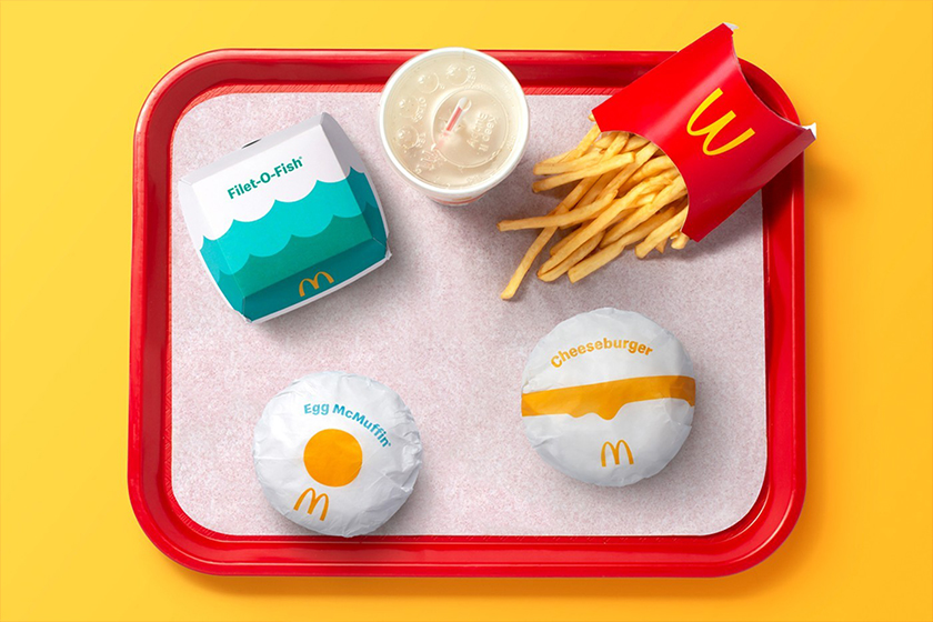 McDonalds New Package Design