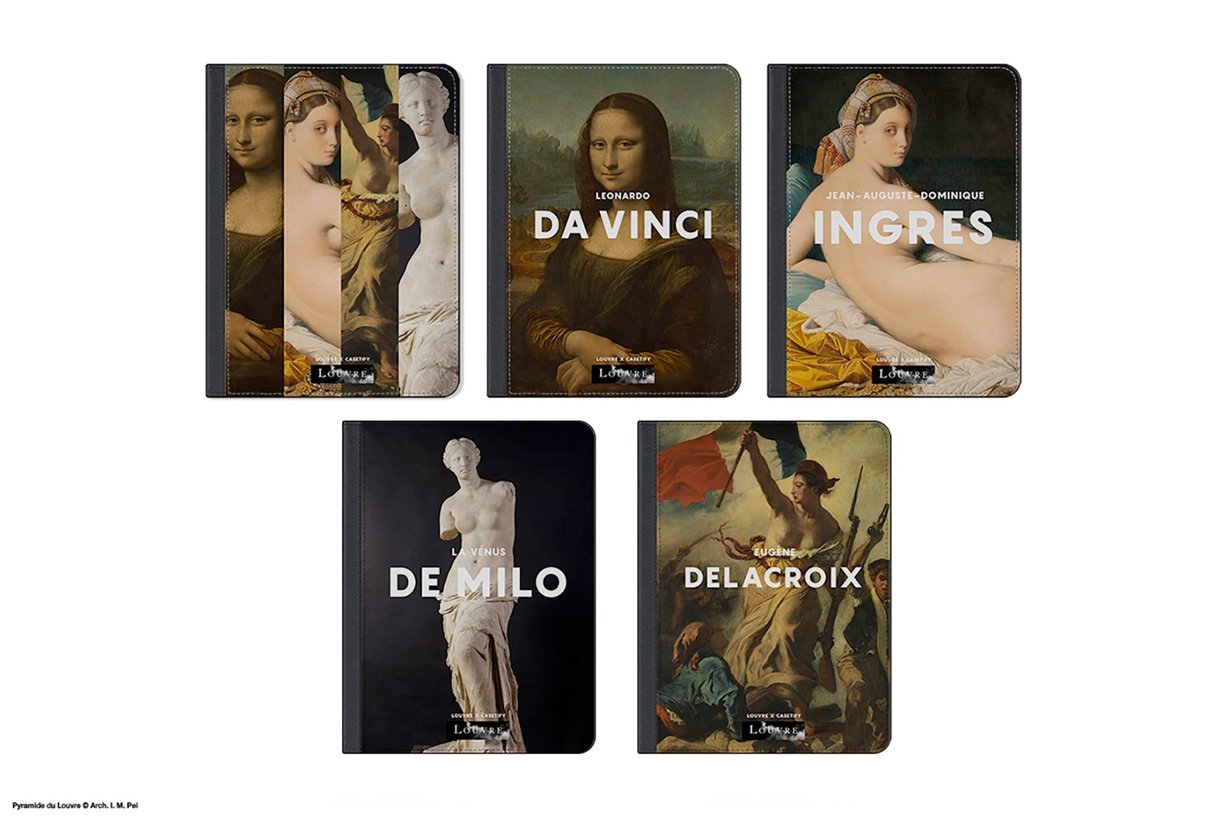 Casetify Musée du Louvre iphone case airpods 3c gadgets