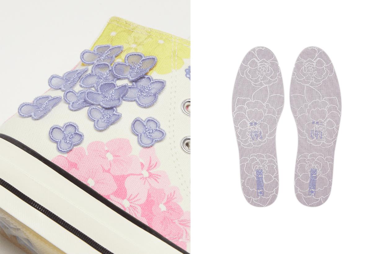 converse chuck 70 floral sneakers 2021 when where taiwan