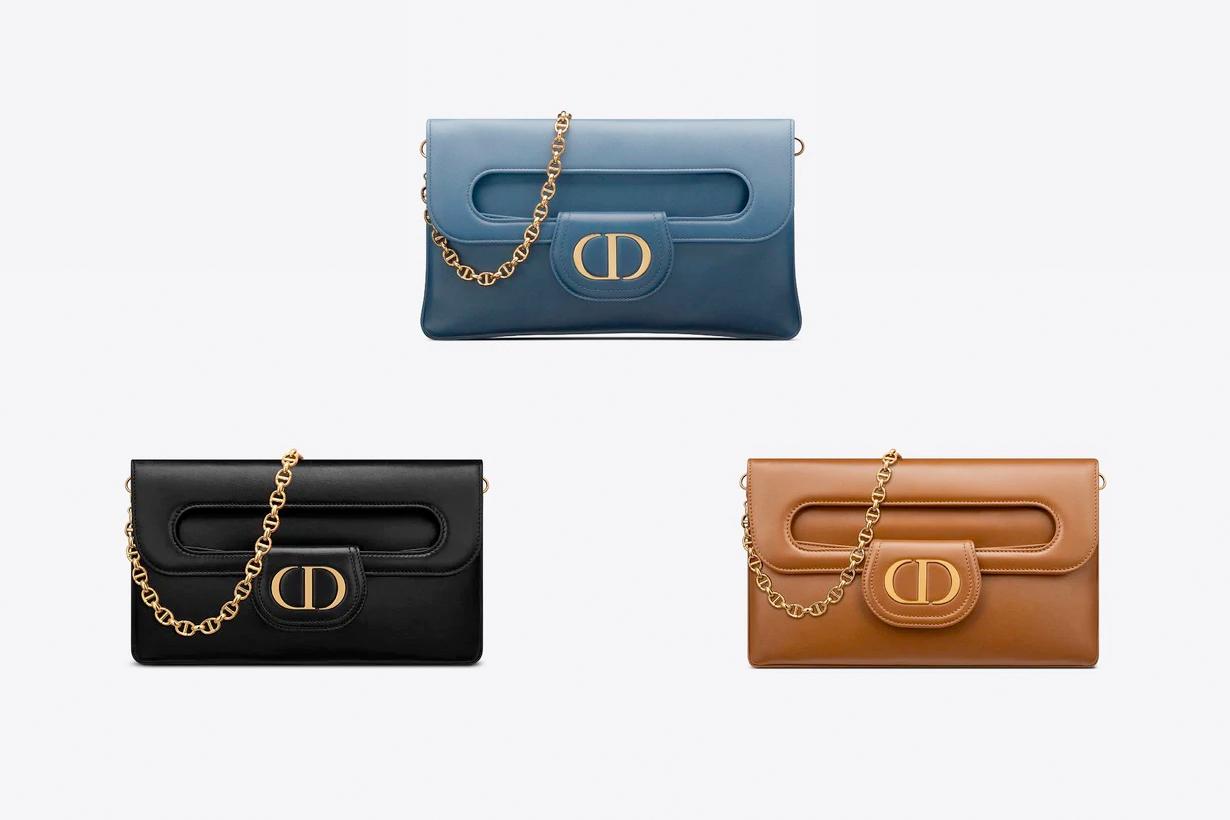 Dior Double SS21 handbags 3 ways 2021 it bag