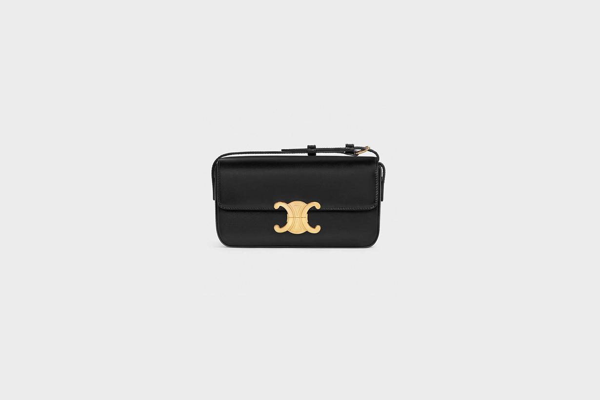 celine triomphe shoulder bag 2021ss handbags