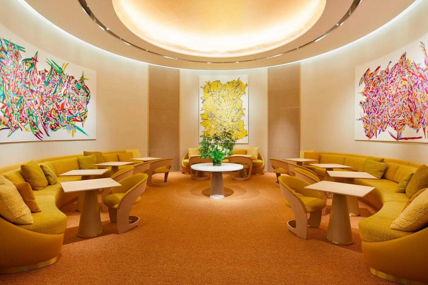 Louis vuitton first restaurant cafe osaka Japan lvmh Le Café V Sugalabo V