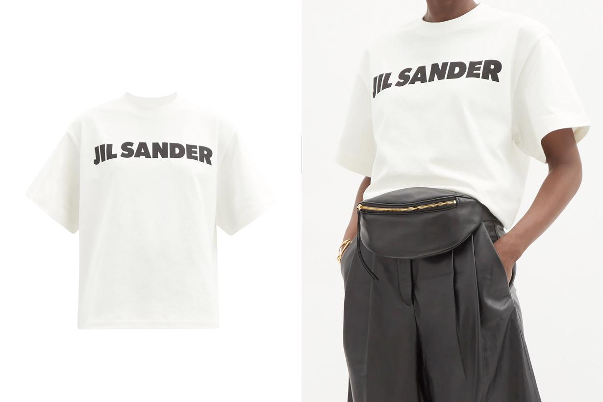 jil sander logo tee summer essential