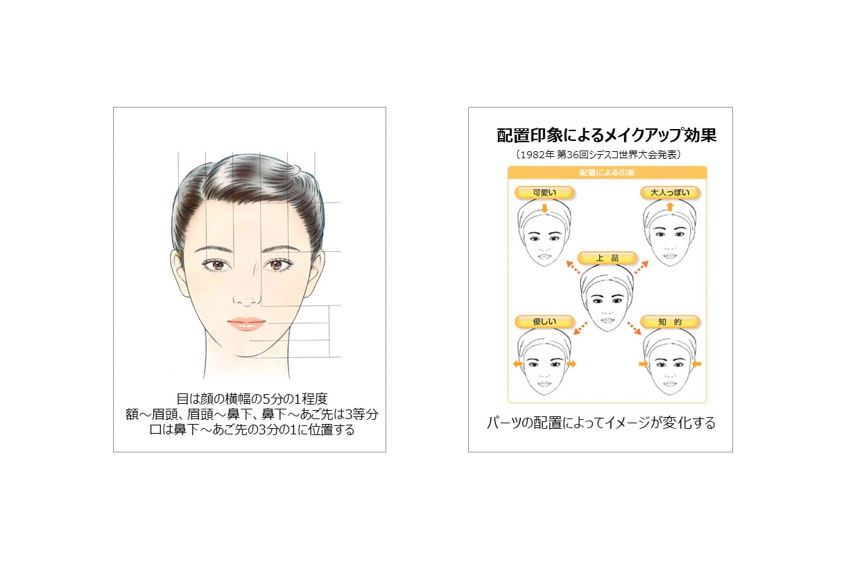 kao japanese women girl average face proportion investigation