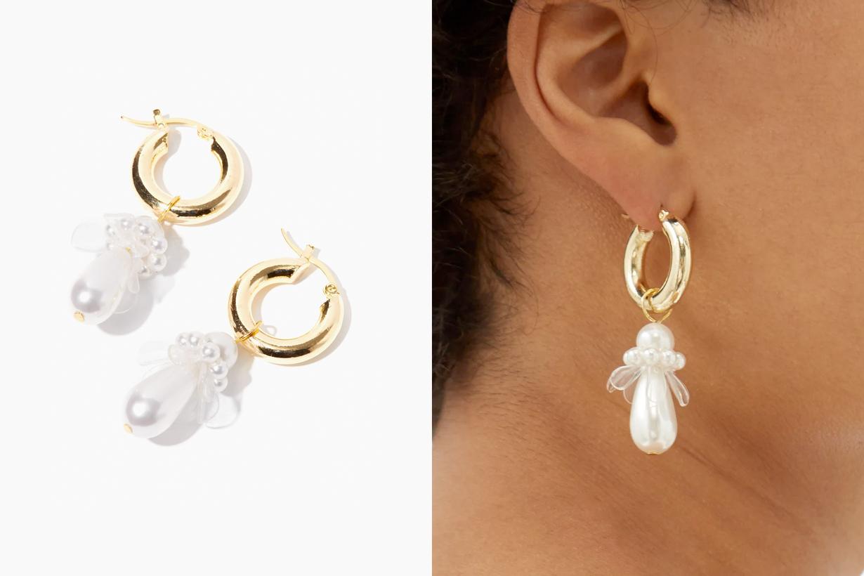 pearl earrings under budget shrimps Otiumberg