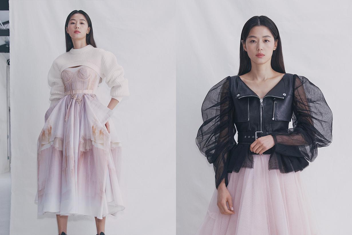 Alexander McQueen SS2021 lookbook Jun Ji Hyun