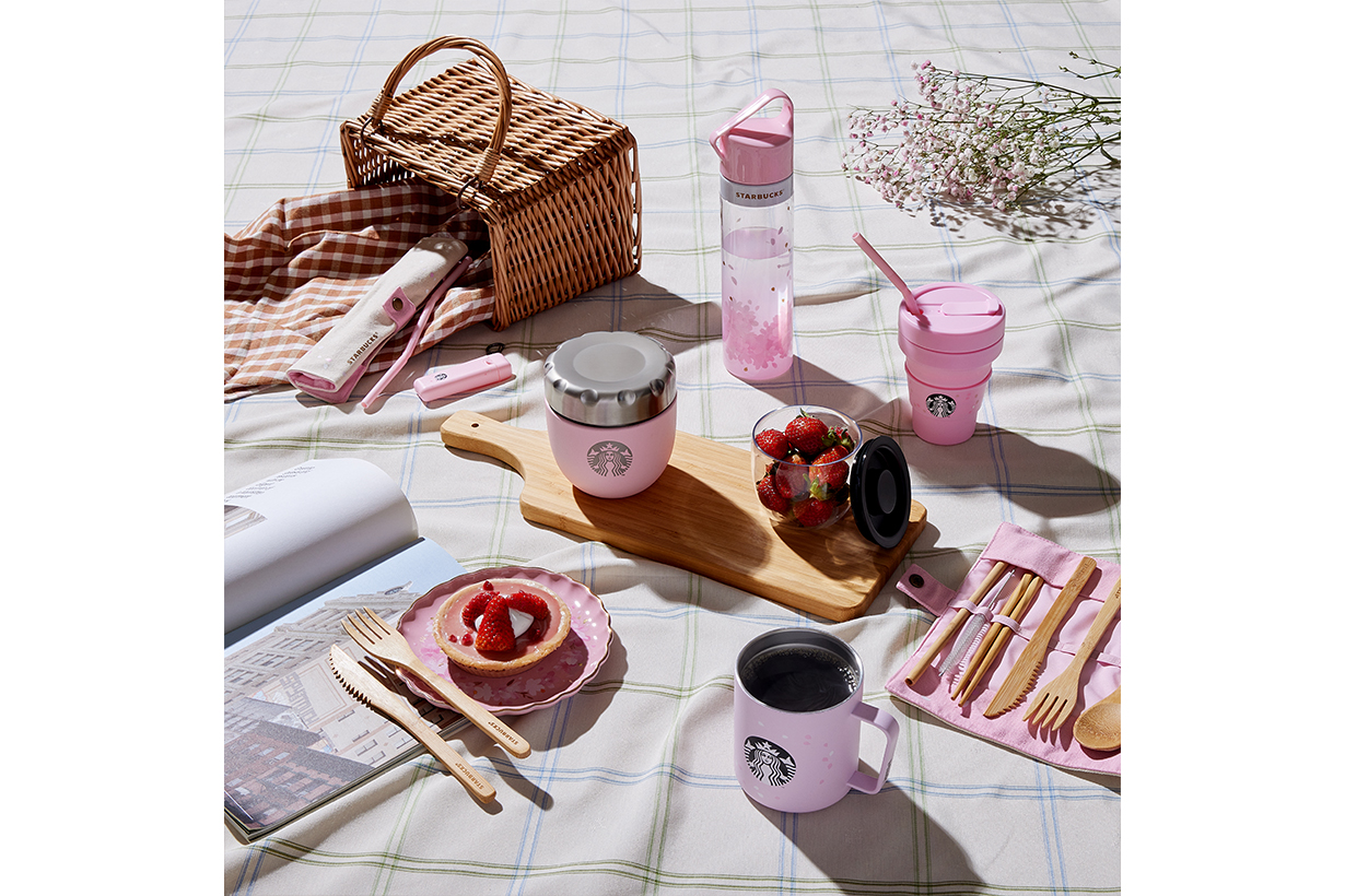 Starbucks sakura-blossom-collection