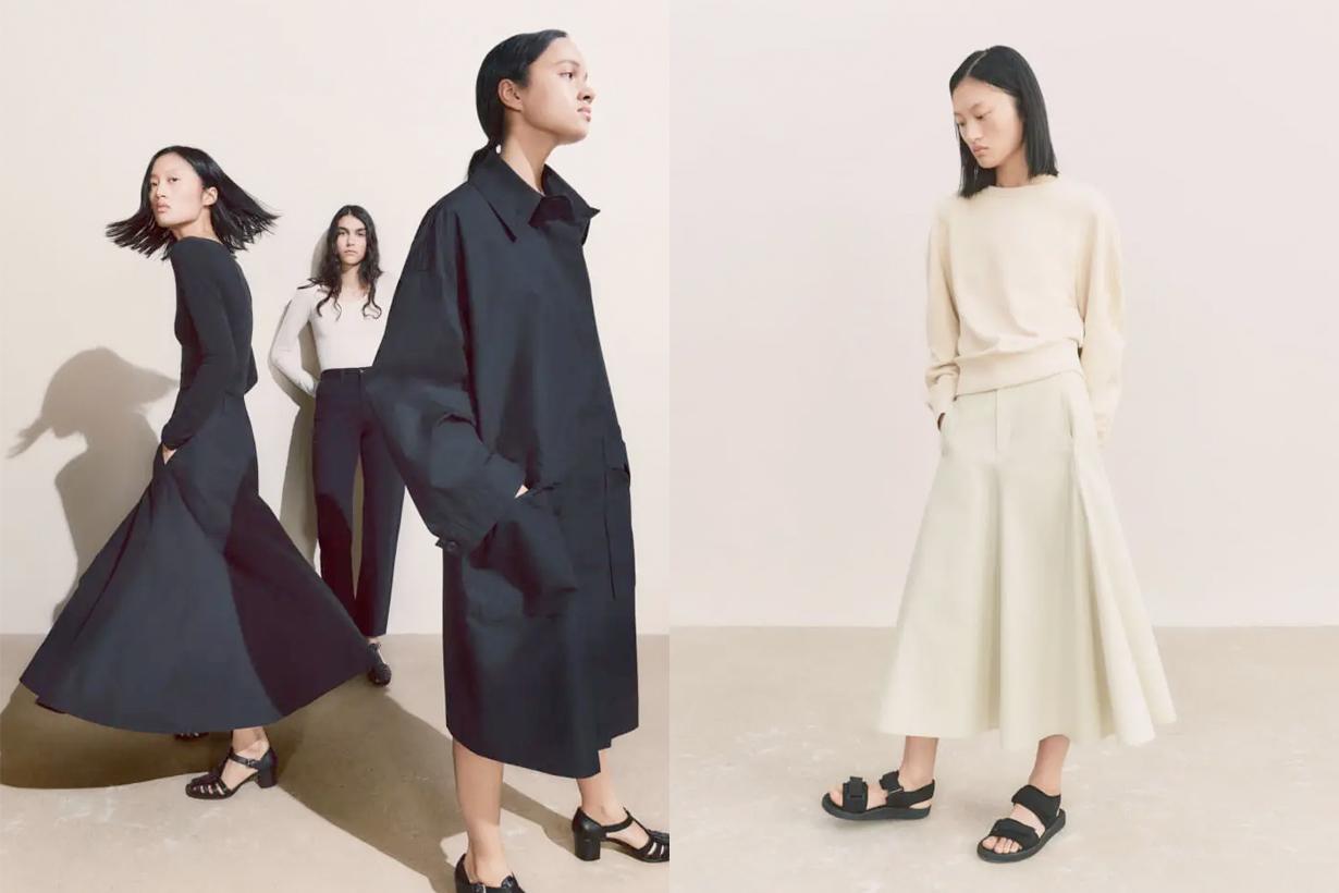 uniqlo u 2021 SS skirt japanese girl instagram styling