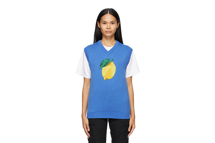 Blue Lemon Vest