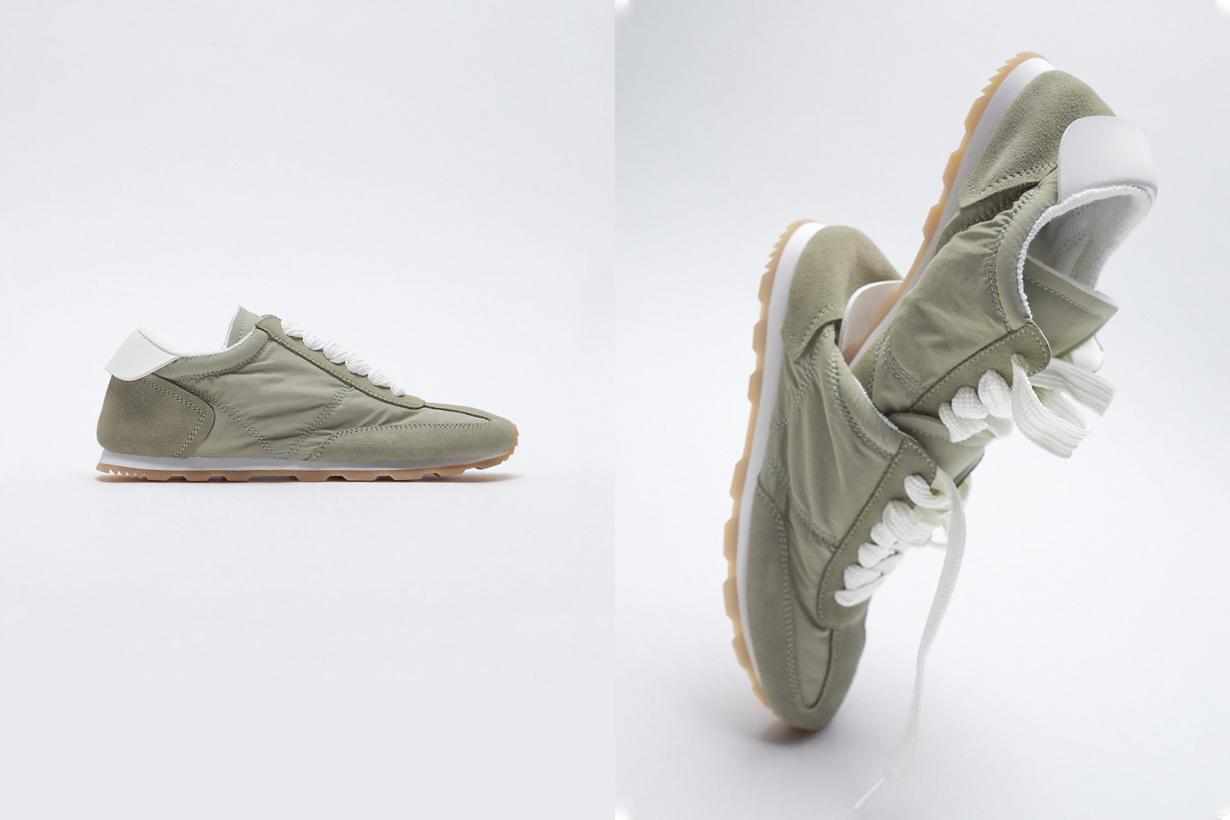 zara sneakers effortless chic 2021 pairs