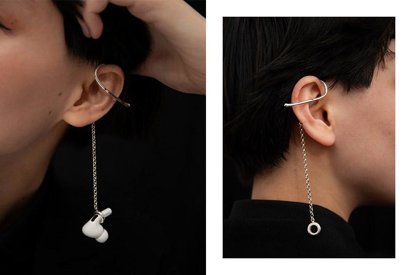 Mara Paris AirPods Earrings Ear Cuff