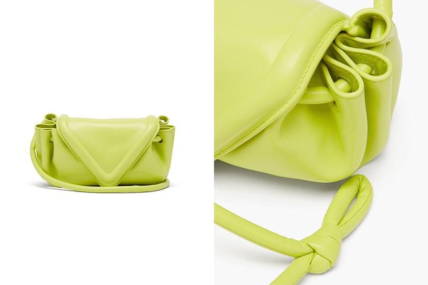 Bottega Veneta Beak bag Drawstring Triangle leather cross-body bag