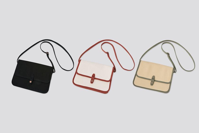 Uniqlo 3 Handbags 2021 spring wear