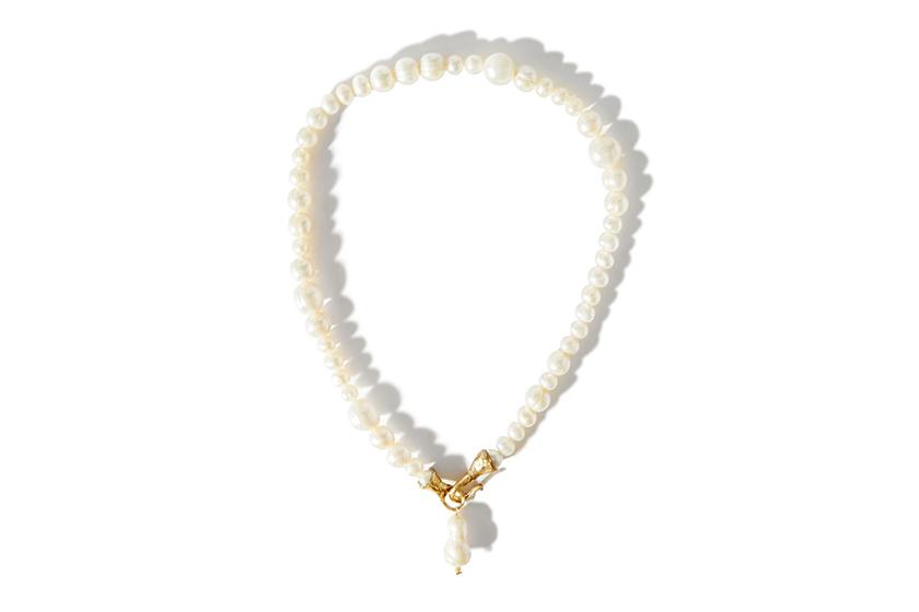 Indie Brand Anita Berisha pearl accessories