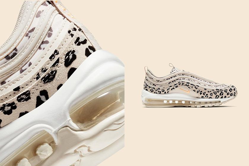 Nike Air Max 97 Leopard Milk Tea Pink