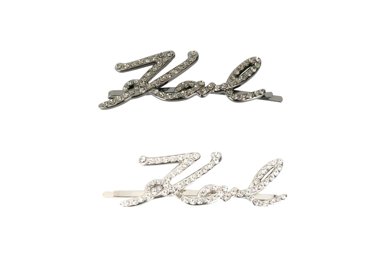 Brand Logo Hair Clips Hairstyles Hair Accessories Hair styling tips Hairstyles Trends 2021 Spring Summer Fashion Items