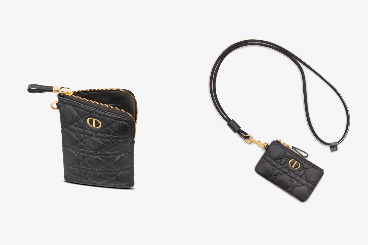 dior caro Multifunction Pouch small leather 2021 SS