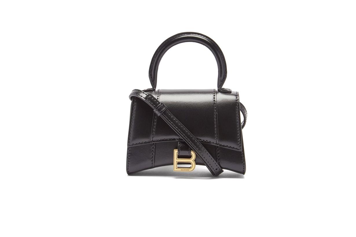 Balenciaga hourglass top handle handbags
