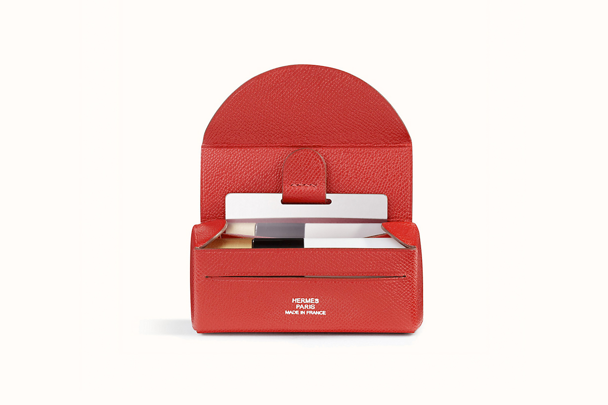hermes lipstick case mirror affordable small leather goods