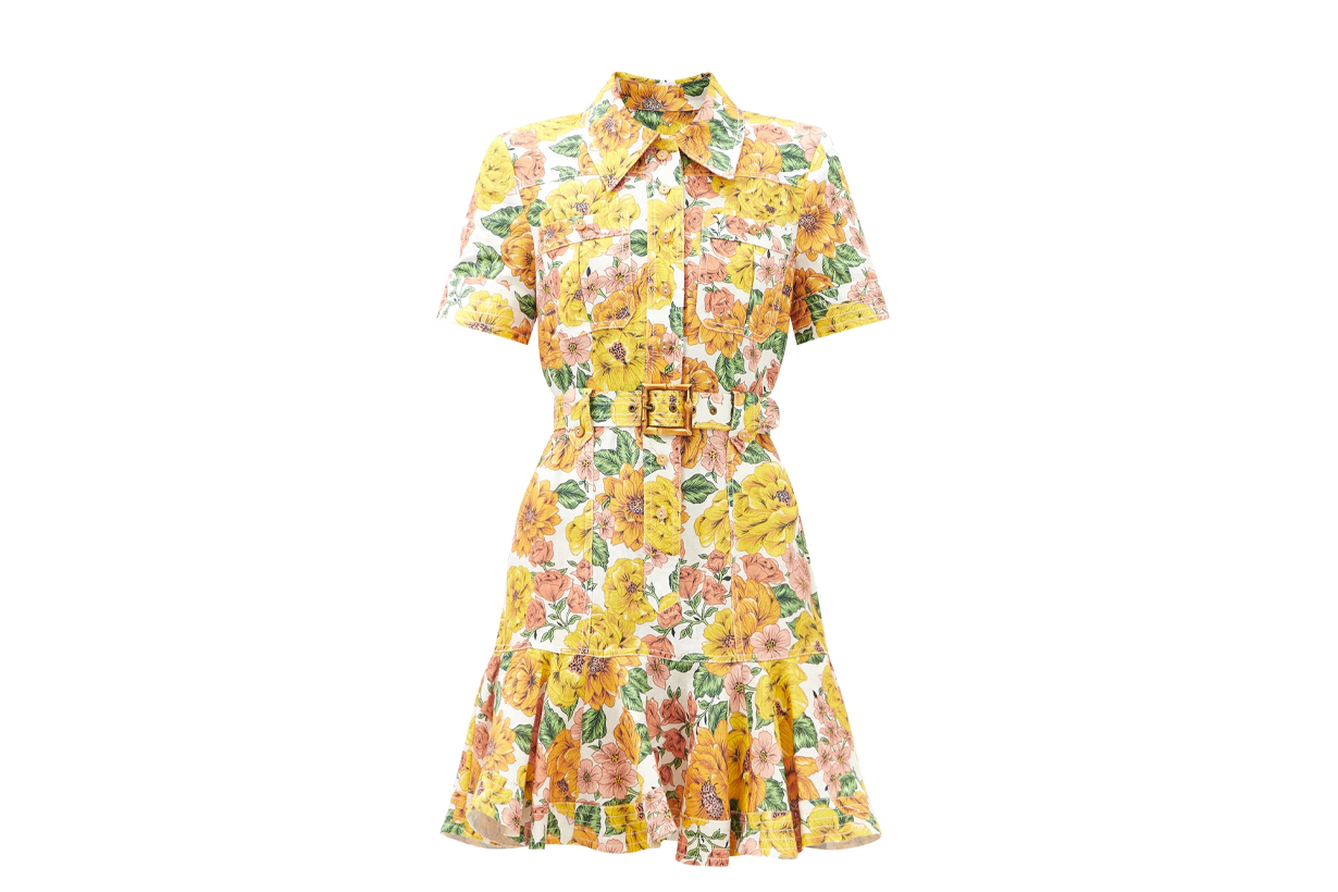 Floral Dress 2021 Spring Summer Fashion Trends Fashion Items Floral Elements Hyuna Kim Jessica Jung BLACKPINK Rose Park Min Young Korean idols celebrities singers girl bands actresses