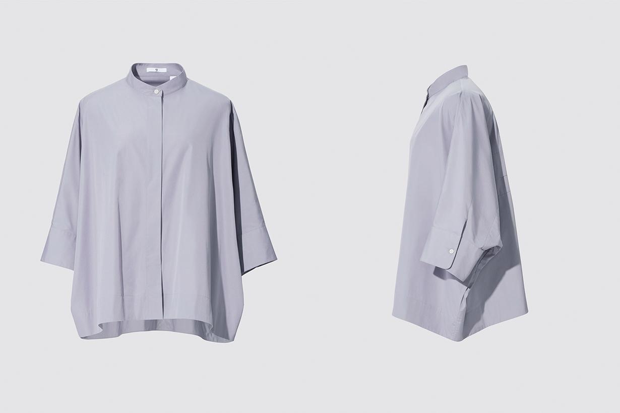 uniqlo +j jil sander SUPIMA COTTON shirts must have