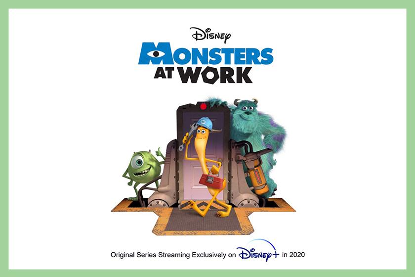 monsters at work disney pixal monsters inc series