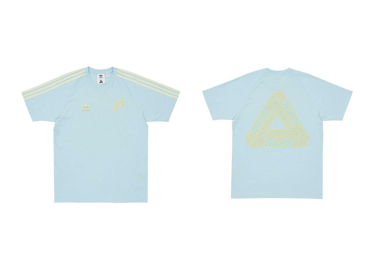 palace skateboards adidas originals 2021 SS stan smith t-shirts