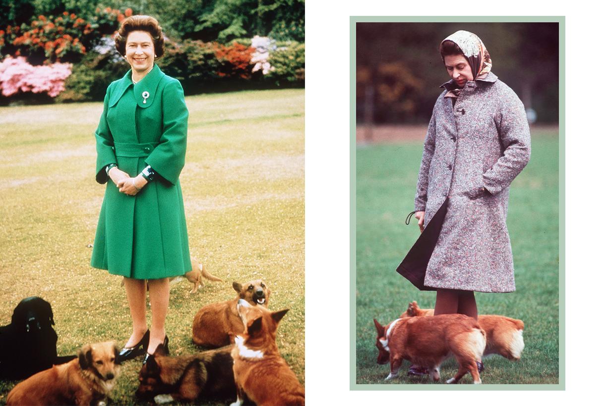 Queen Elizabeth II Prince Philip Corgi Pet Dog dachshund-corgi  Fergus Muick Fergus Bowes-Lyon WWI Loch Muick Balmoral estate Scotland British Royal Family